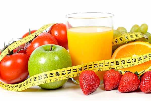 frugt slankekur